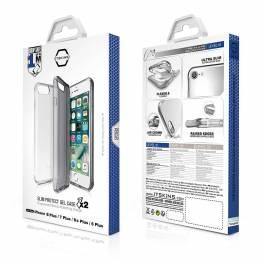 ITSKINS Gel Cover iPhone 6/7/8 Plus pakke med 2stk
