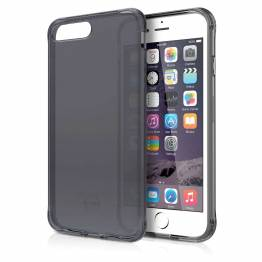 ITSKINS Gel Cover iPhone 6/7/8 Plus Gennemsigtigt sort