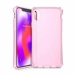 ITSKINS Cover til iPhone Xs Max Gennemsigtigt Pink
