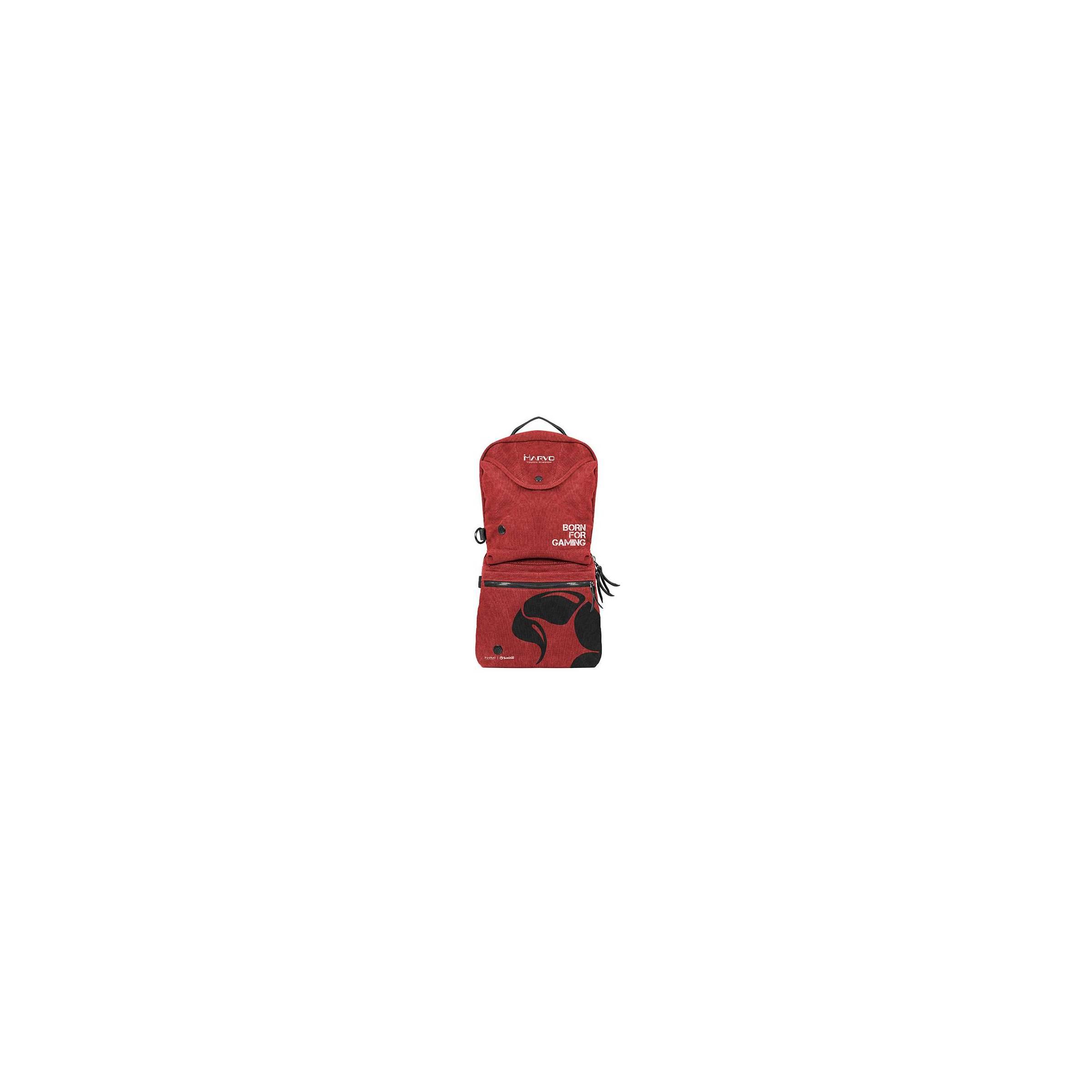 Marvo gaming taske rød fra scorpion by marvo fra mackabler.dk