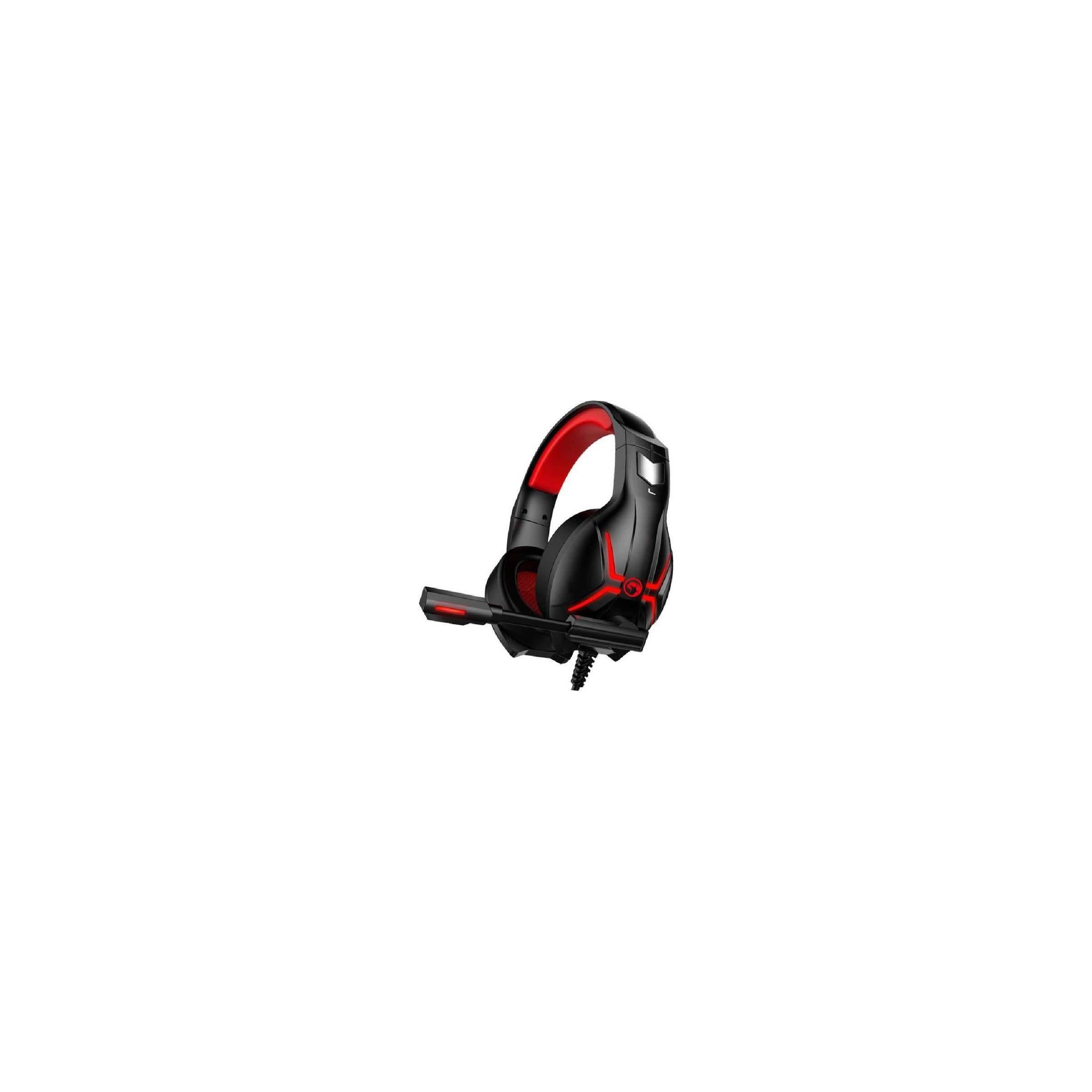 Marvo gaming headset hg8928 til pc og ps4 fra scorpion by marvo på mackabler.dk