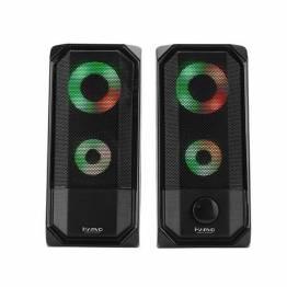 Stereo Gaming Højtaler med Led lys