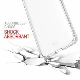 ITSKINS Cover til Samsung Galaxy A6+ Gennemsigtigt
