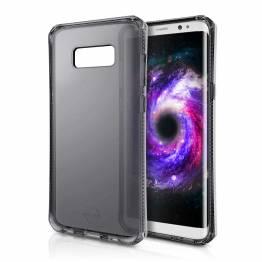 ITSKINS Cover til Samsung Galaxy A8 Plus Gennemsigtigt Sort
