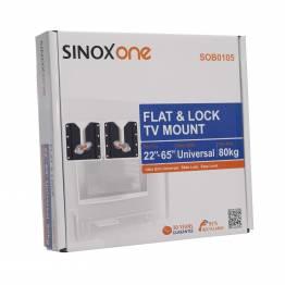 """Sinox One SOB0105 Tv vægbeslag. Sort TV størrelse: 22""""- 65"""""""