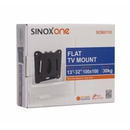 """Sinox One SOB0105 Tv vægbeslag. Sort TV størrelse: 13""""- 22"""""""