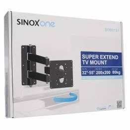 """Sinox One SOB0105 Tv vægbeslag. Sort TV størrelse: 26""""- 42"""""""
