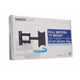 "Sinox One SOB0105 Tv vægbeslag. Sort TV størrelse: 23""- 42"""
