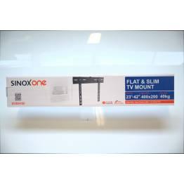 """Sinox One SOB0450 Tv vægbeslag. Sort TV størrelse: 23""""- 42"""""""