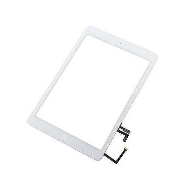 iPad Air Digitizer hvid. skærm i høj kvalitet - iPad Air Digitizer hvid. High Copy.Med en god digitizer som denne til din iPad Air kan du være sikker på, at der ikke går lang tid før du igen kan bruge din iPad Air. Er din iPad hvid kan du købe denne digitizer, som netop er i hvid. Skærmen er i høj kval