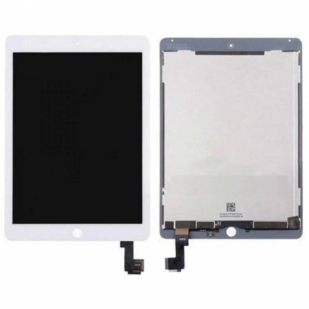 iPad Air 2 Skærm hvid