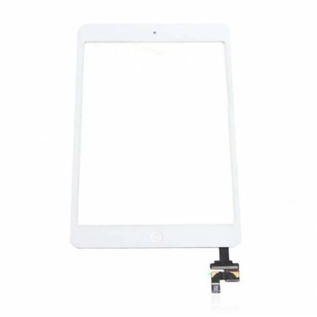 iPad Mini 2 skærm hvid. skærm i høj kvalitet - iPad Mini 2 skærm hvid. High Copy. LCD+IC.Skift din iPad Mini 2 skærm ud hvis den er gået i stykker og du ikke kan bruge din iPad mini 2 optimalt. Denne hvide skærm gør, at du hurtigt kan komme i gang med at bruge din iPad igen, og så slipper du for at be