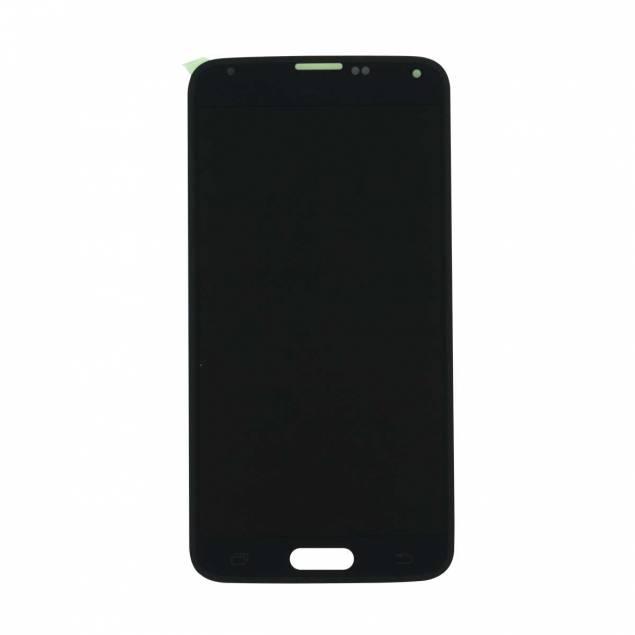 Samsung Galaxy S5 (G900) skærm sort. Original - Samsung Galaxy S5 (G900) sort. Original.Skift den gamle skærm på din Samsung Galaxy S5 ud med denne flotte skærm.