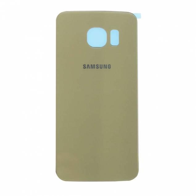 Samsung Galaxy S6 Bagplade guld - Samsung Galaxy S6 Bagplade guld. OEM Original.
