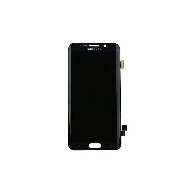 Samsung Galaxy S6 Edge sort. Semi original - Samsung Galaxy S6 Edge skærm sort. Semi Org..Med denne flotte sorte skærm til Samsung Galaxy S6 Edge kan du hurtigt skifte din skærm ud hvis den er gået i stykker eller lignende.
