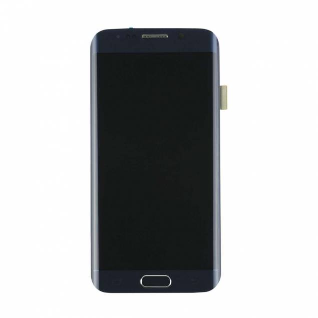 Samsung Galaxy S6 Edge blå. Original - Samsung Galaxy S6 Edge skærm blå. Original.