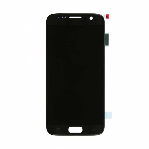 Samsung Galaxy S7 Skærm sort. Semi original - Samsung Galaxy S7 Skærm sort. Semi Org..Er der noget galt med din skærm på din Samsung Galaxy S7 kan du heldigvis gøre noget ved det ved at skifte den ud med denne skærm der netop passer til Samsung Galaxy S7 skærm i semi original kval