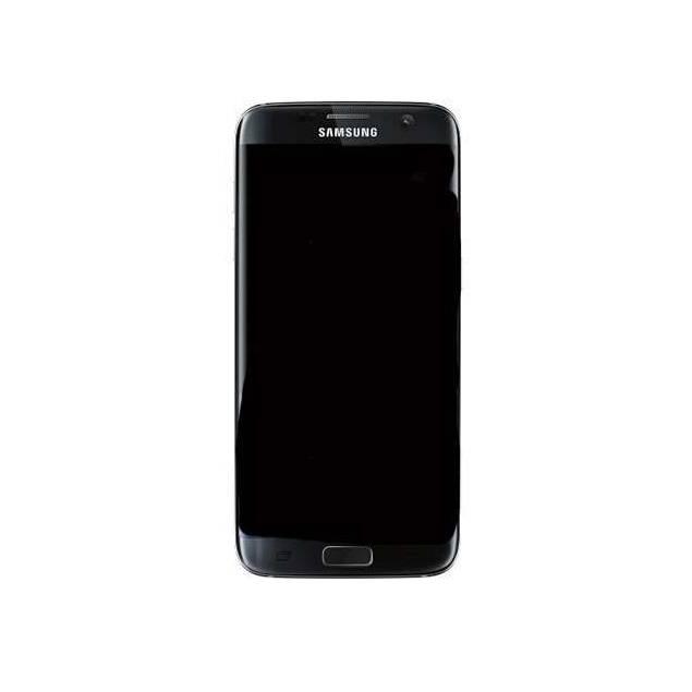 Samsung Galaxy S7 Edge sort. Semi Org. - Samsung Galaxy S7 Edge skærm sort. Semi Org..