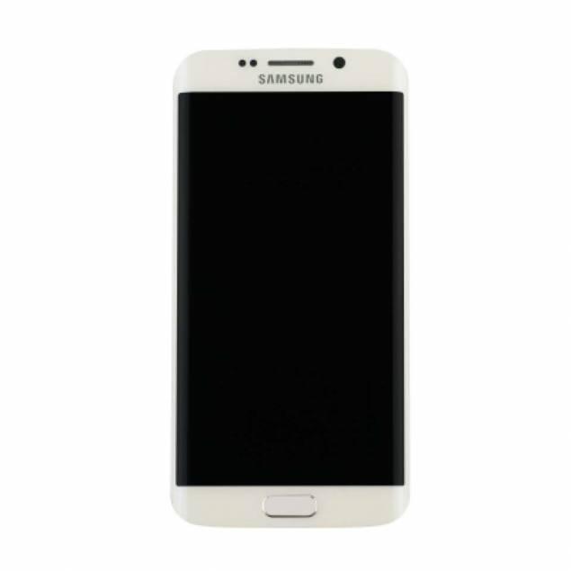 Samsung Galaxy S7 Edge hvid. Original - Samsung Galaxy S7 Edge skærm hvid. Original.