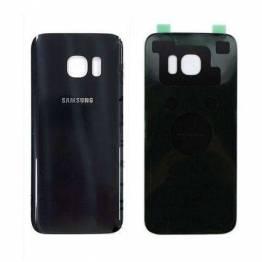 Samsung Galaxy S7 Edge Bagplade sort