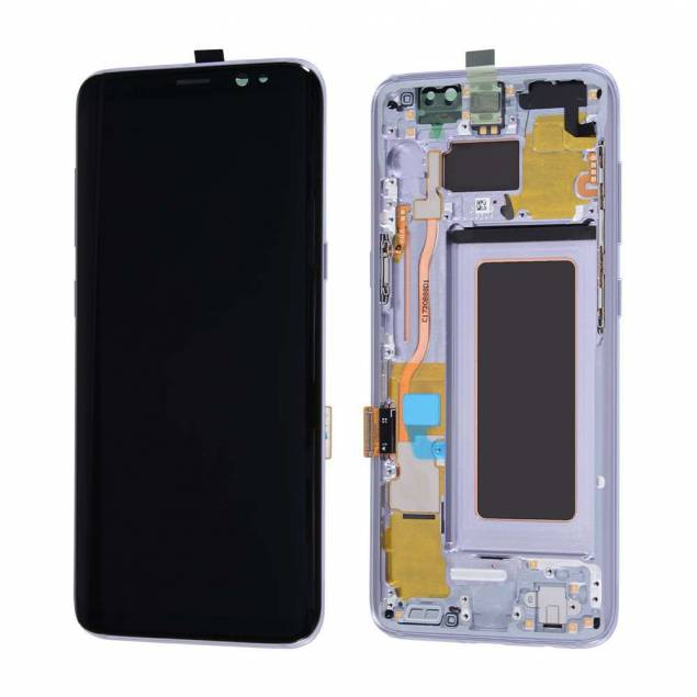 Samsung Galaxy S8 skærm grå. Original - Samsung Galaxy S8 skærm grå. Original.Mangler du en ny skærm til din Samsung Galaxy S8 i grå? Så er denne lige en for dig.