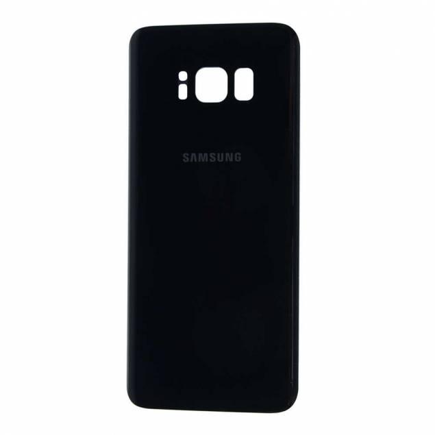 Samsung Galaxy S8 Bagplade sort - Samsung Galaxy S8 Bagplade sort. OEM Original.Gør din iPhone sort ved at vælge en sort bagplade til den.