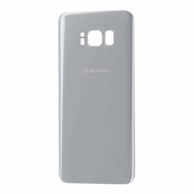 Samsung Galaxy S8 Bagplade sølv - Samsung Galaxy S8 Bagplade sølv. OEM Original.Med denne bagplade kan du give din Samsung Galaxy S8 et pift, som vil gøre, at det føles som om, at du pludseligt har fået en ny mobil.