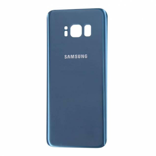 Samsung Galaxy S8 Bagplade blå - Samsung Galaxy S8 Bagplade blå. OEM Original.Giv din mobil et helt frisk look med en ny bagplade i denne flotte farve.