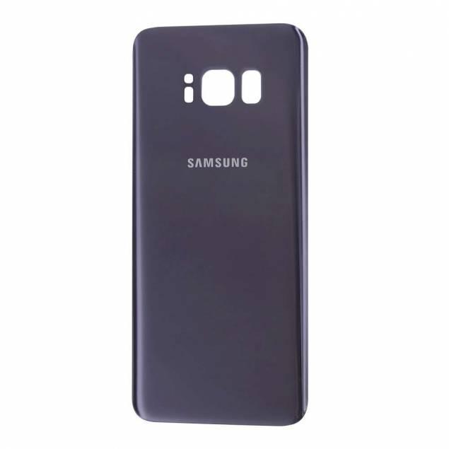 Samsung Galaxy S8 Bagplade grå - Samsung Galaxy S8 Bagplade grå. OEM Original.Giv din iPhone et nyt look ved at skifte bagcoveret ud. Har du en Samsung Galaxy S8 kan du gøre det samme ved hjælp af dette smarte cover.