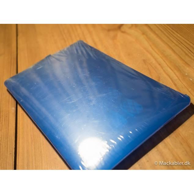Macbook hard skin blå
