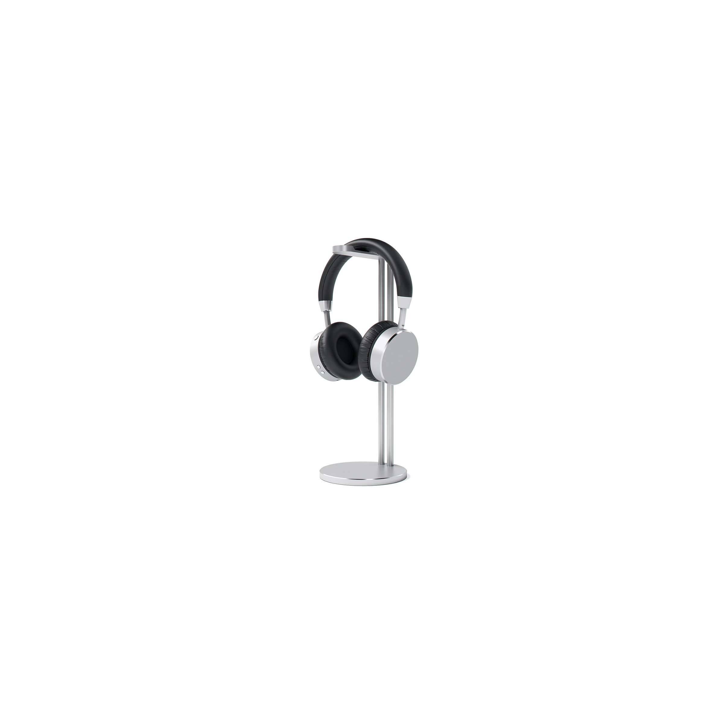 satechi – Satechi slim aluminium høretelefon stander farve sølv farve fra mackabler.dk