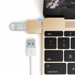 Satechi USB-C USB adapter - Turn your 12-inch Mac USB-C port to a USB 3.0 port!