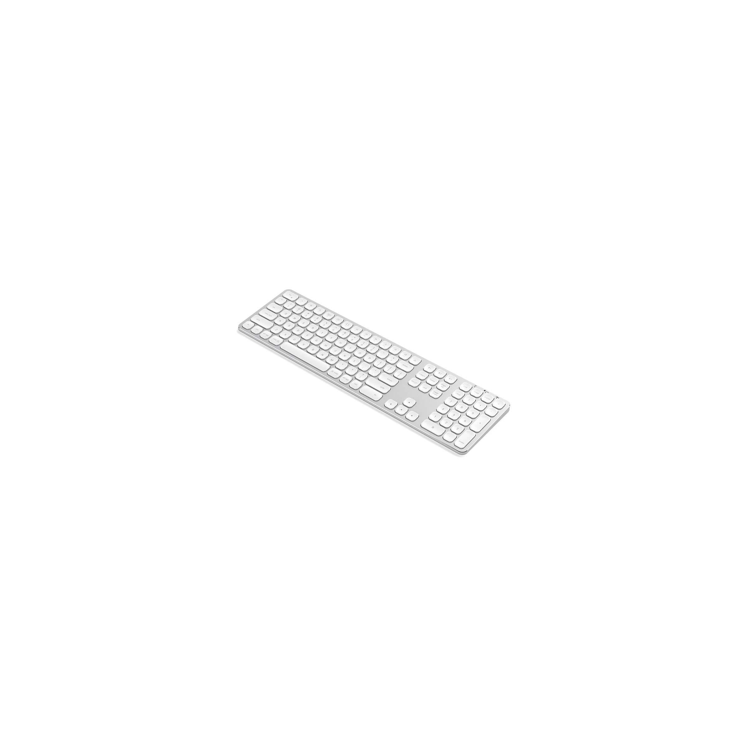 satechi Satechi trådløs bt tastatur nordic layout (m. æøå) farve sølv farve på mackabler.dk