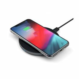 Image of   Satechi Aluminum Type-C Fast Wireless Charger V2 Farve Space grey