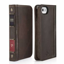 Twelve South BookBook til iPhone SE / 5 / 5s - iPhone Wallet Case