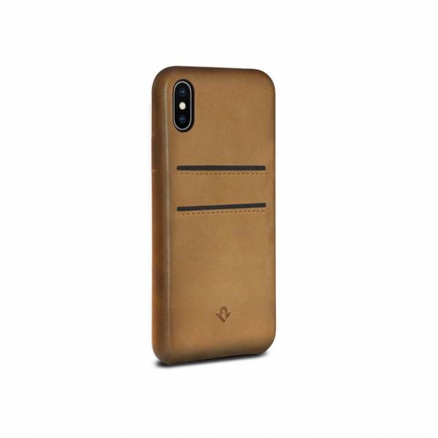 Twelve South Relaxed Leather case with Pockets til iPhone X/XS