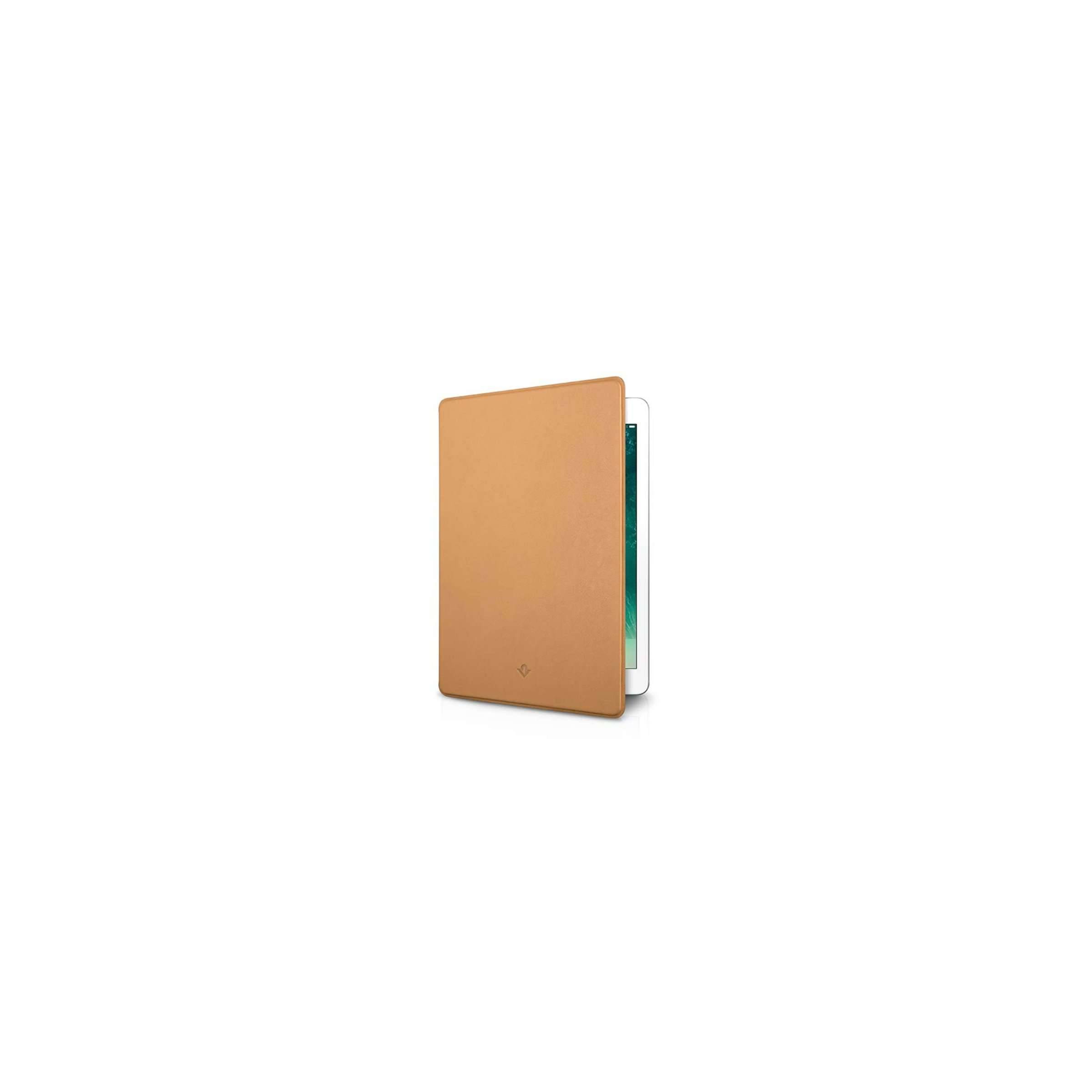 "twelve south Twelve south surfacepad til ipad 10.5"" (2019) and ipad pro 10.5 - luxury leather case farve camel på mackabler.dk"