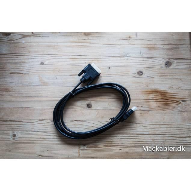 Image of   DVI til HDMI kabel (1,8m)
