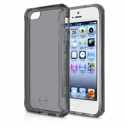 ITSKINS Cover til iPhone 5 Gennemsigtigt sort
