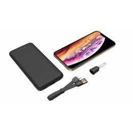 Adam Elements Gravity Mini sort/hvid 5000mAh