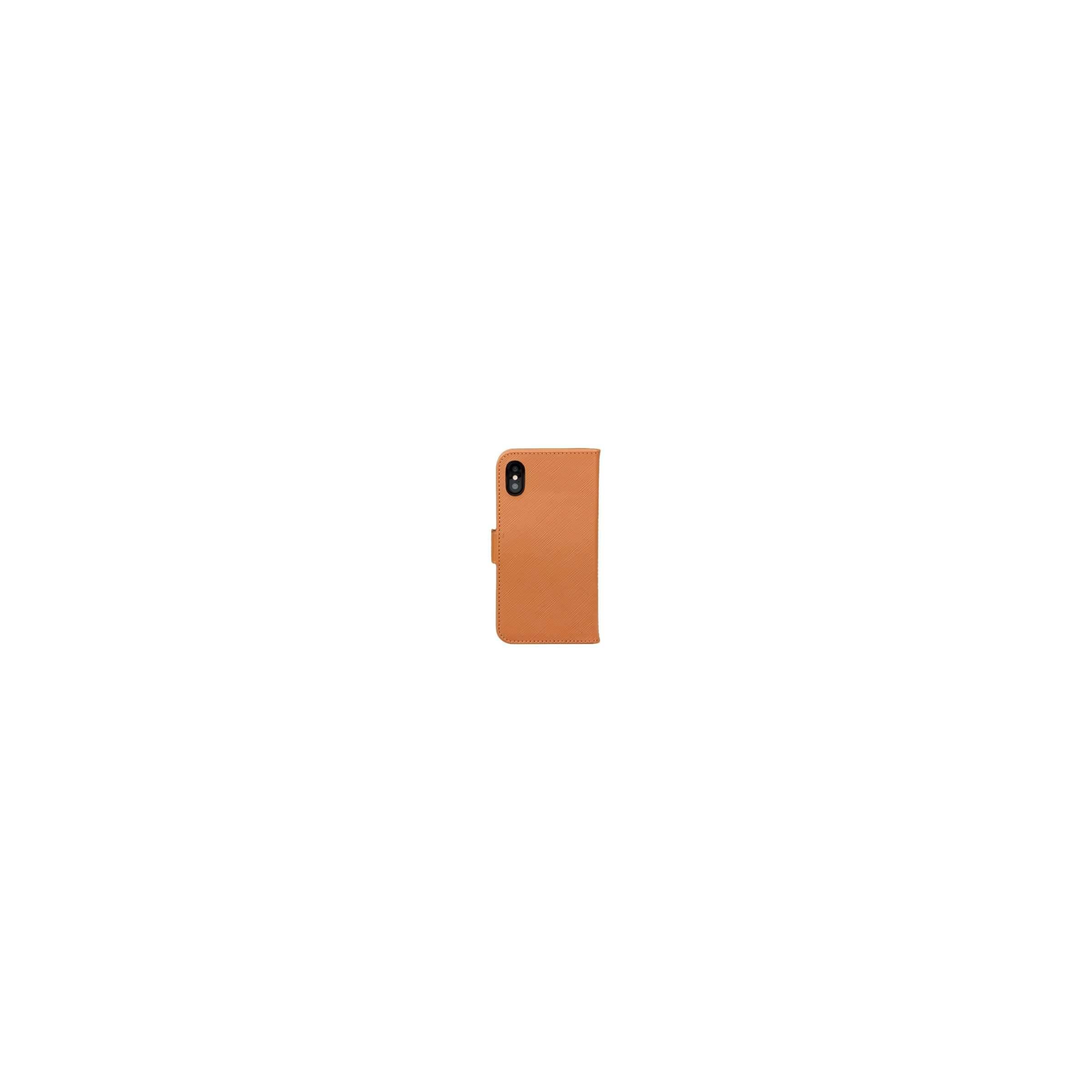Iphone x/xs cover i ægte læder med klap fra dbramante1928 farve brun fra dbramante1928 på mackabler.dk