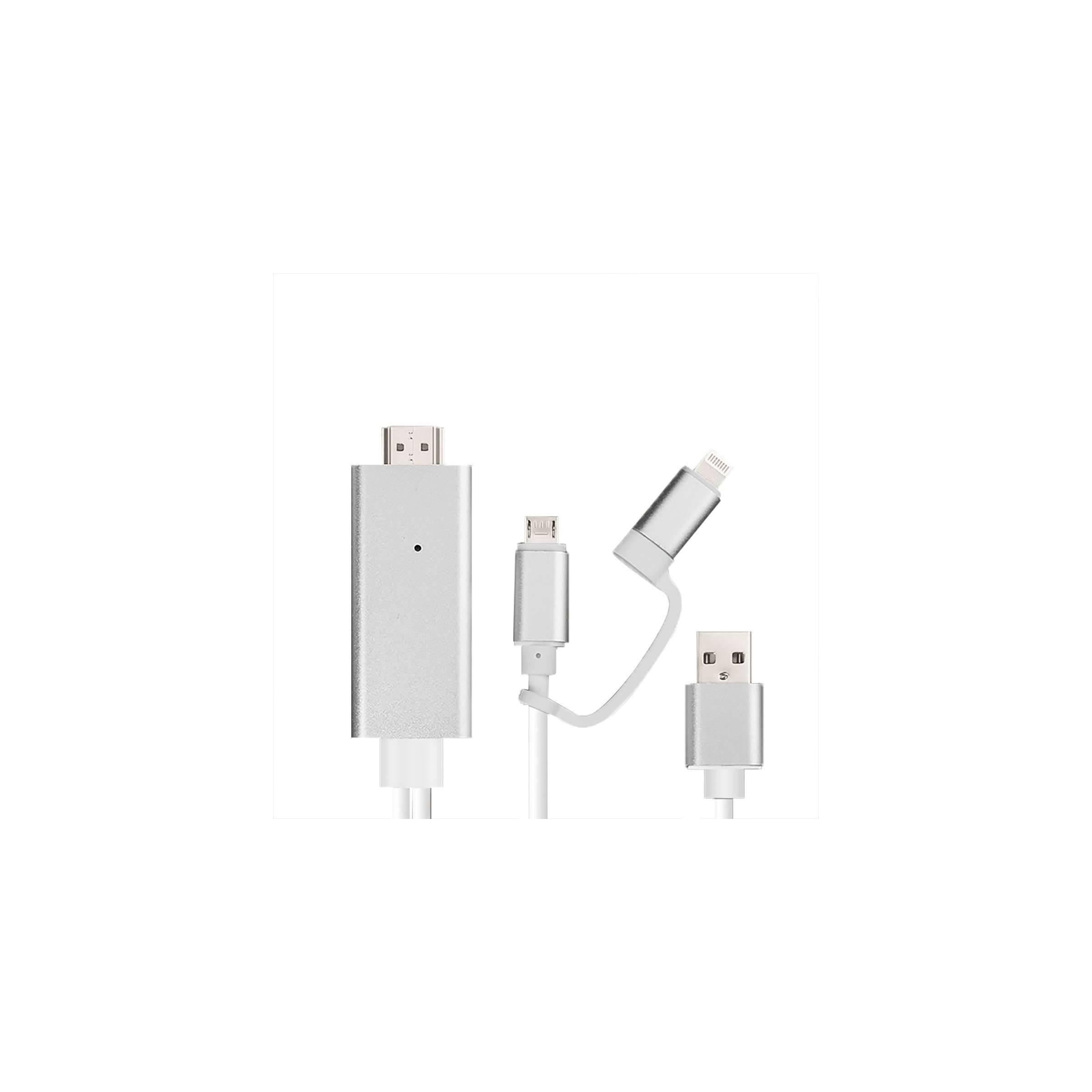 connectech by sinox – Connectech lightning/micro usb til hdmi adapter på mackabler.dk