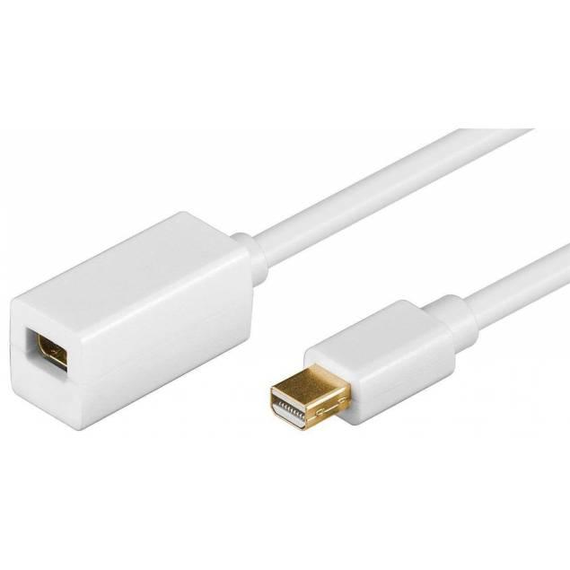 Mini displayport forlænger kabel 2m