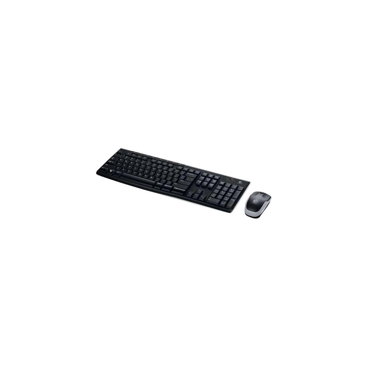 Logitech trådløs skrivebord (Mus+tastatur) MK270 (m. æøå