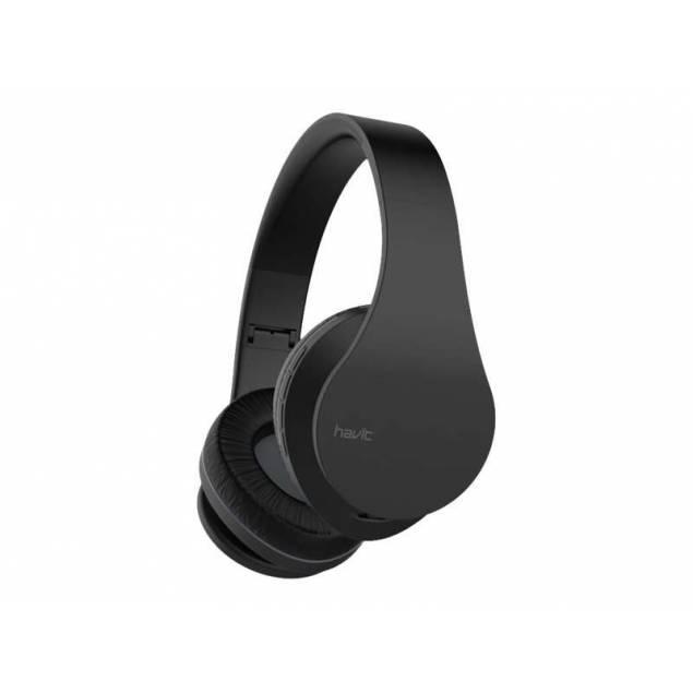 Havit I66 trådløs faldbart Hovedtelefon i sort