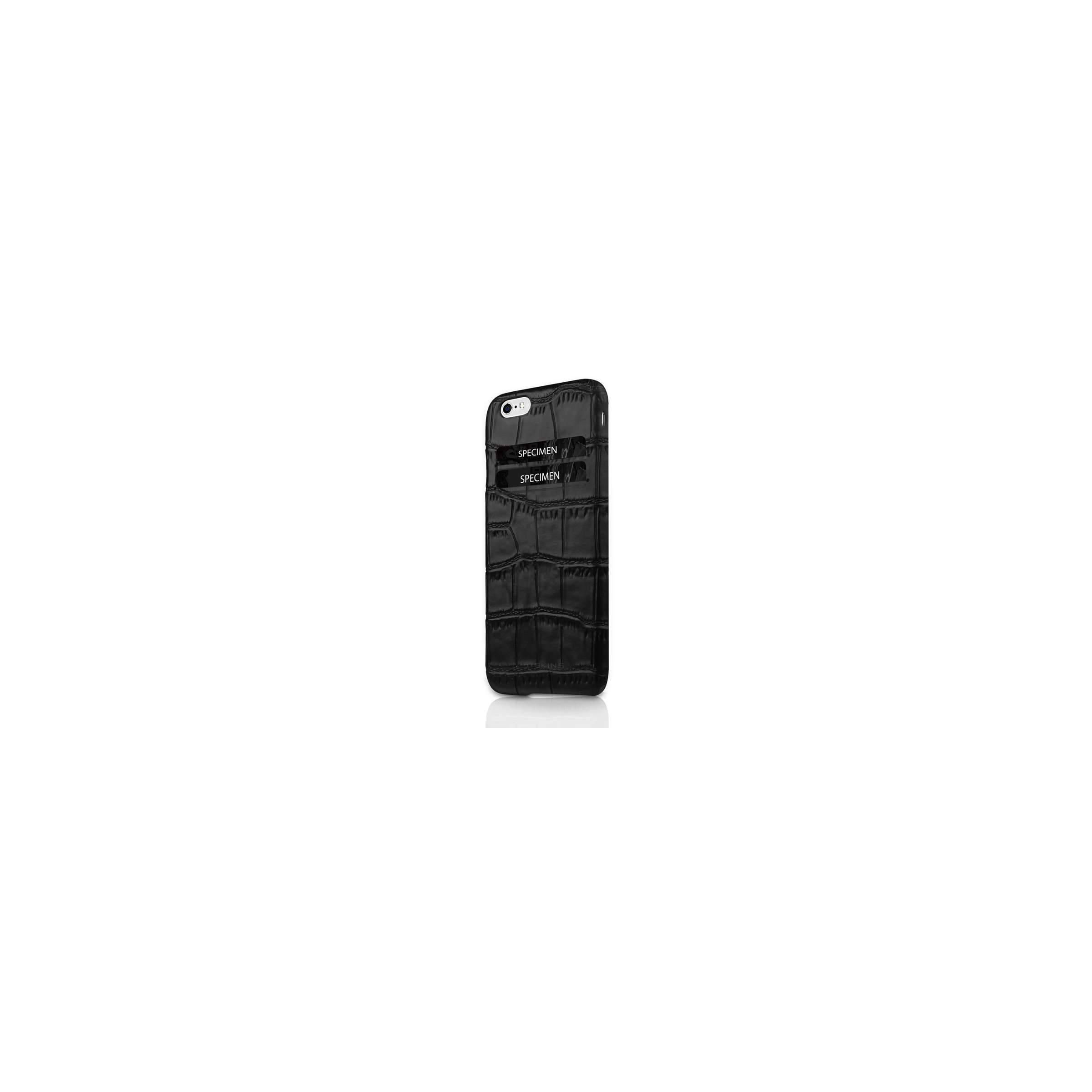 Iphone6/6s/7/8 plus lædercover med kortplads fra itskins fra mackabler.dk