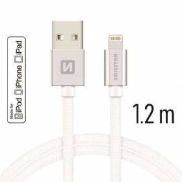 RAVPower Kevlar 0,9m USB til Lightning MFi Nylon Yarn Kabel