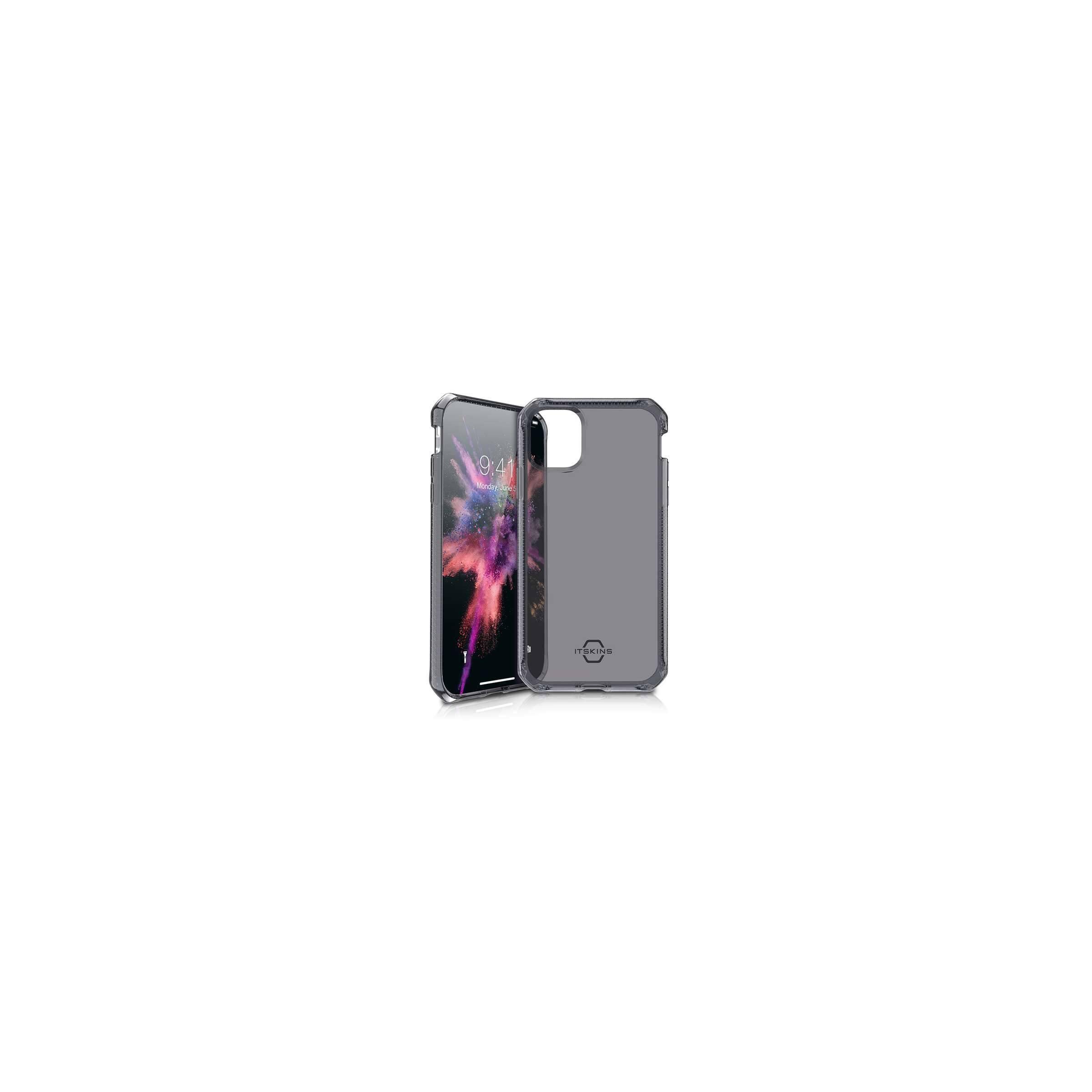 Spectrum cover itskins til iphone 11 pro max mørkt gennemsigtigt fra itskins på mackabler.dk