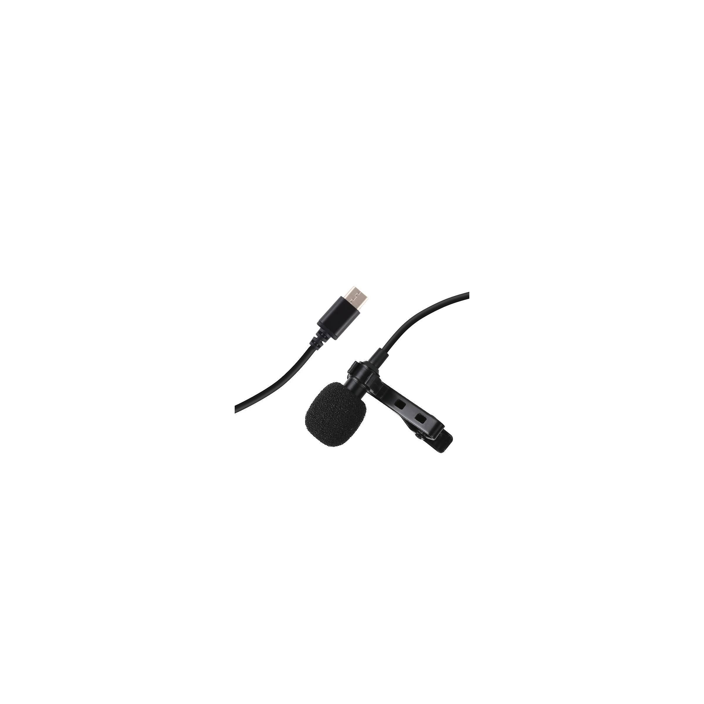 Mikrofon clip on til android med usb-c puluz fra puluz på mackabler.dk