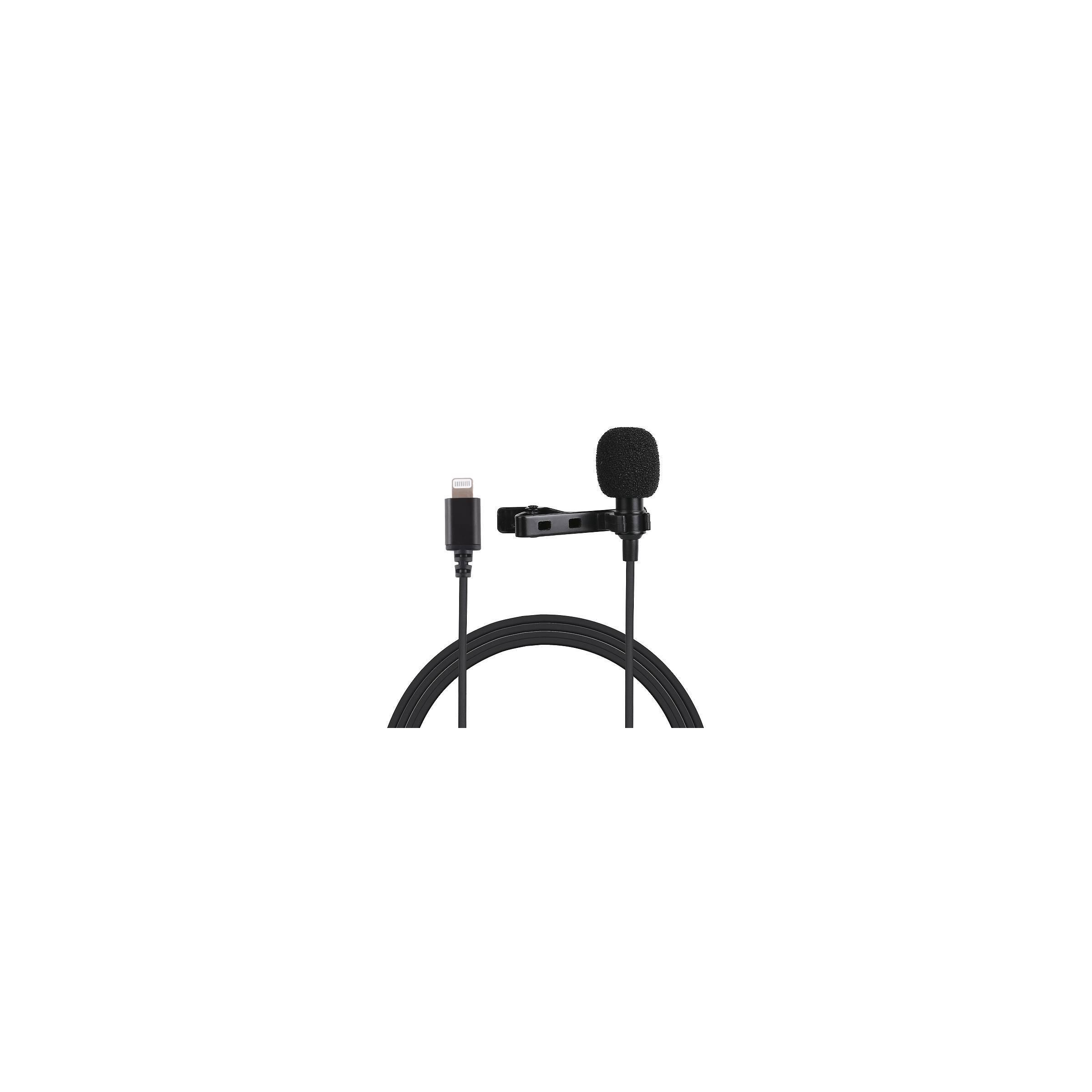 puluz – Mikrofon clip on til iphone & ipad med lightning fra mackabler.dk